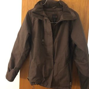 North End Sport Brown Jacket Women's Medium M